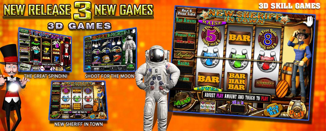 3D Skills Games