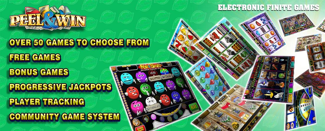 Electronic Finite Games